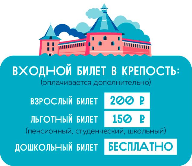 Экскурсии и живые квесты в крепости Орешек
