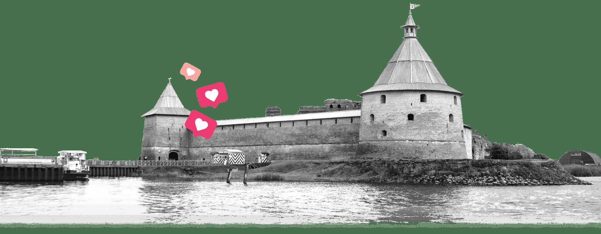 Крепость Орешек - официальный сайт переправы