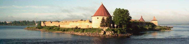 Захватывающая архитектура крепости Орешек