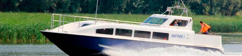 Аренда катера для прогулок по реке Неве